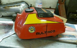 cw classic Bultaco Tank