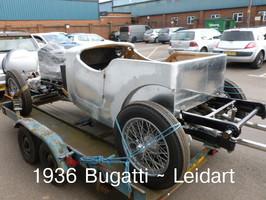 1936 Bugatti Leidart