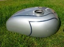 cw classic Triumph GP Petrol Tank