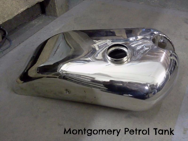 Montgomery Petrol Tank
