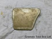 Greeves Tool Box Lid