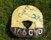 Original Number Plate
