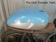 cw classic Pre Unit Triumph Tank