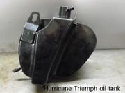 cw classic Hurricane Triumph oil tank